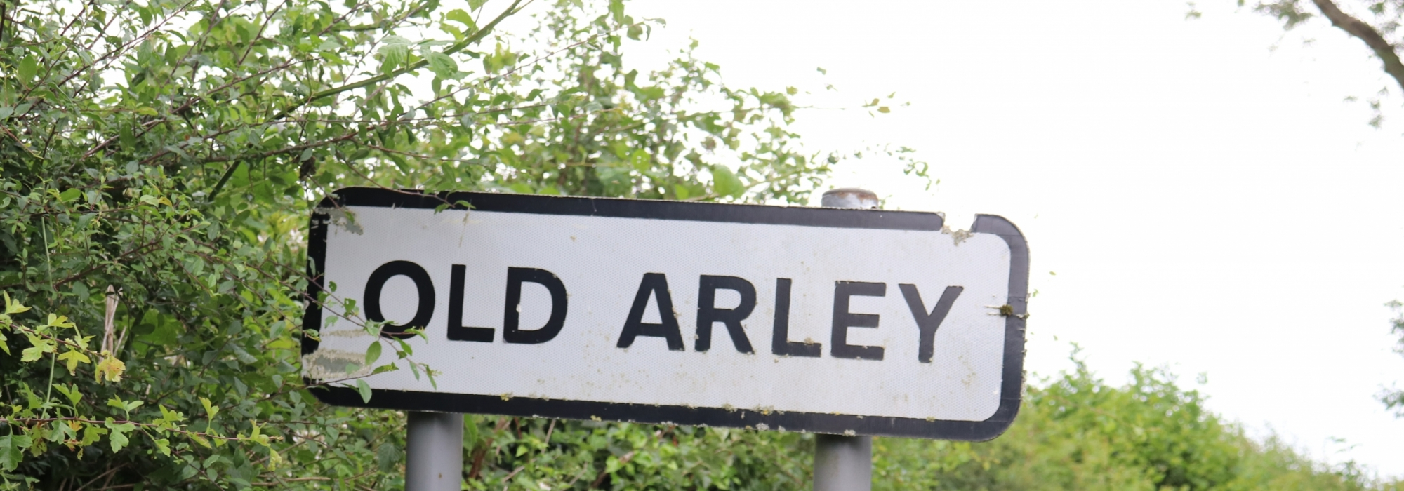 Old Arley Village Road Sign
